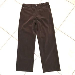 Jhane Barnes Frequency brown jean pants size 34
